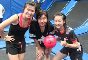 jump-street-dodgeball-girls-posing-with-dodgeball